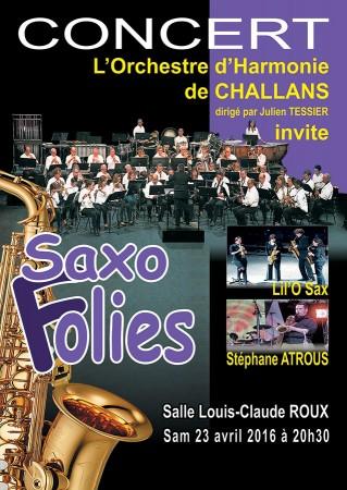 Concert Saxofolies