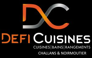 Logo Défi Cuisines Fond noir