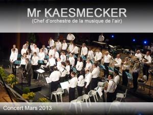 dossier Concert Mr KAESMECKER mars 2013