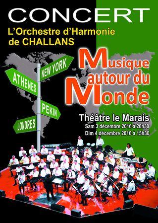 Concerts «Musique autour du Monde»