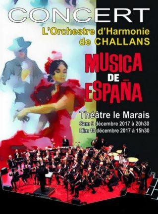 Concerts «Musica de España»                                 CONCERTS COMPLETS SAMEDI ET DIMANCHE